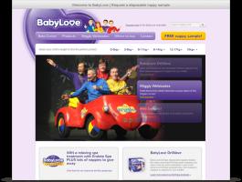 Wordpress Website - BabyLove Nappies