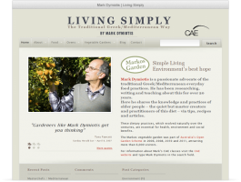 Mark Dymiotis - Living Simply