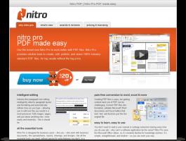 Nitro Microsite - PDF made easy
